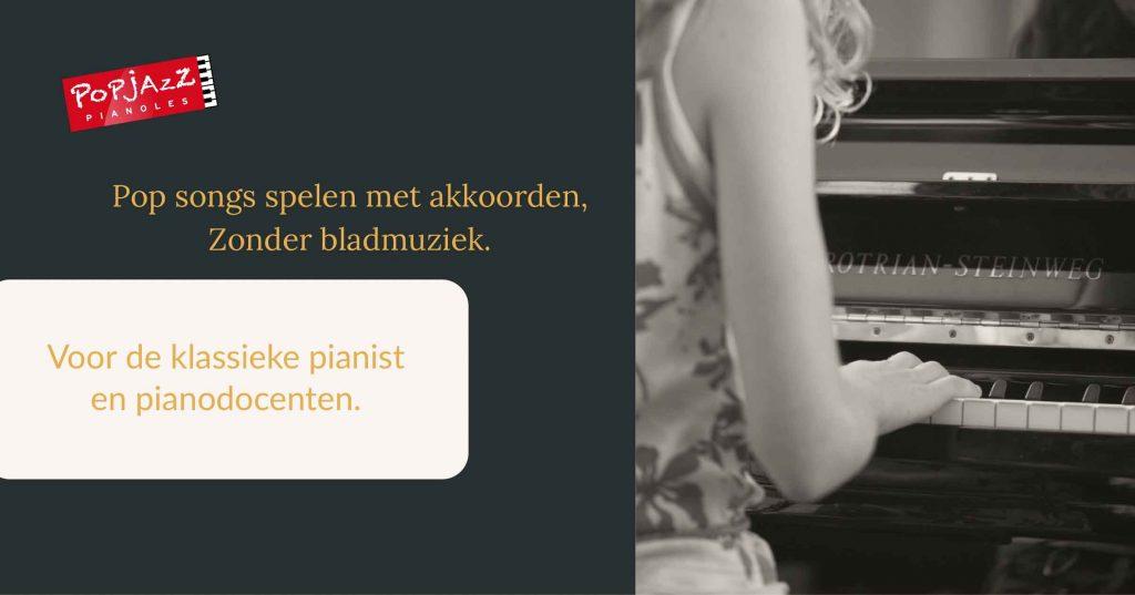 popsongs en akkoorden voor de klassieke pianist
